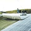 自己修復型遮水シート