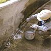 ガラス繊維モルタル・プライマー(エマルション系)を用いた左官工による塗装技術